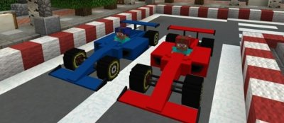 Мод F1 для MCPE 1.0.0/1.0.4