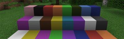 Текстуры Plain Wool для MCPE 1.0.x