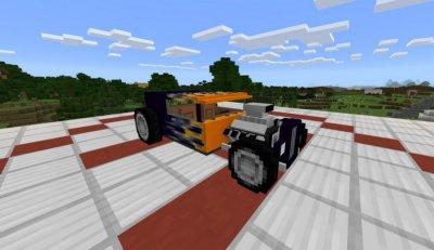 Мод Hot-Road для MCPE 1.1