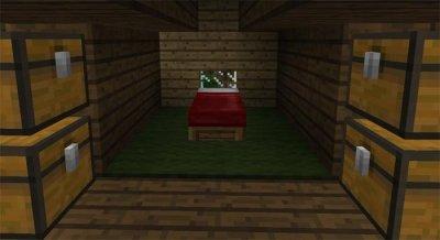Карта Небольшой дом для выживания для MCPE 1.1