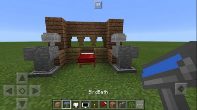 Мод Danxupe Furniture для MCPE 1.1
