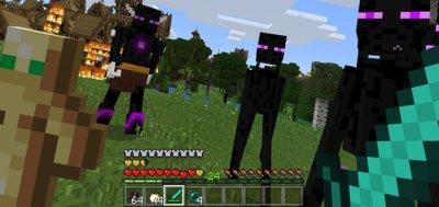 Мод на нового босса Эндера для Minecraft PE 1.1