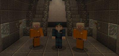 Карта Тюрьма для Minecraft 1.1