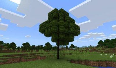 Текстуры Smart Trees v1 для MCPE 1.1+
