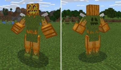 Мод Pumpkin Maniac Майнкафт ПЕ 1.2