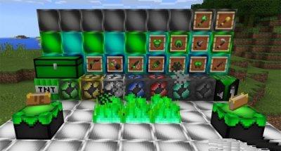 Текстуры GreenDays [16×16] для Minecraft 1.2