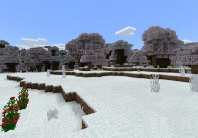 Мод на Зиму для MCPE 1.2
