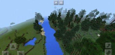 Сид на леса, поля для Minecraft 1.4