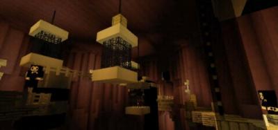 Карта Bendy Game Horror 3 для MCPE 1.5