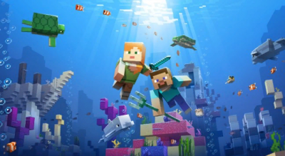 Minecraft PE: Aquatic Update - новое обновление