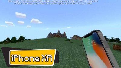 iPhone XR из текстур на бомжа для Майнкрафт ПЕ