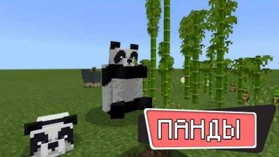 Панды в Minecraft PE 1.9.0.3 Бесплатно